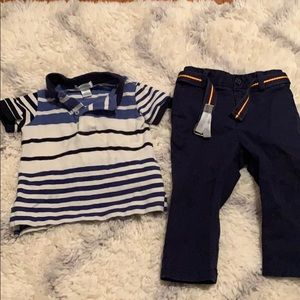 Ralph Lauren polo shirt and pants